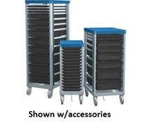 ADJUSTABLE SHELF CARTS